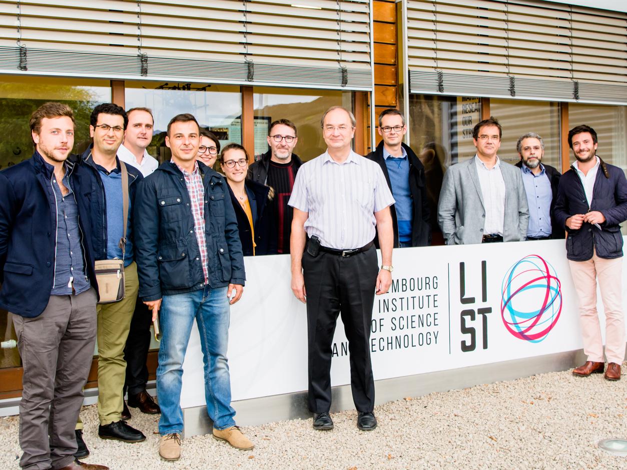 Les chambres d 39 agriculture de france en visite au list for Chambre d agriculture luxembourg